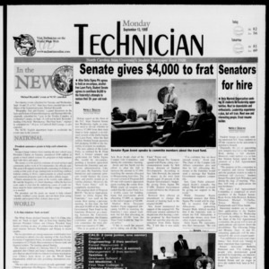 Technician, September 13, 1999