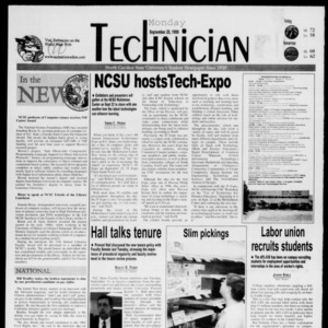 Technician, September 20, 1999