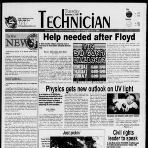 Technician, September 21, 1999