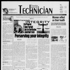 Technician, September 28, 1999