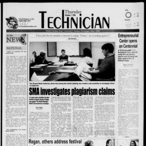 Technician, October 7, 1999