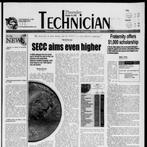 Technician, October 14, 1999