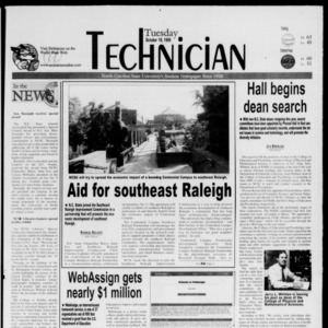Technician, October 19, 1999