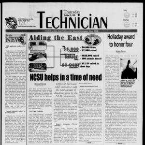 Technician, October 21, 1999