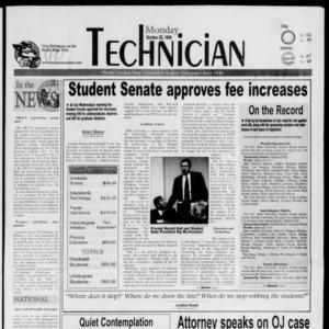 Technician, October 25, 1999