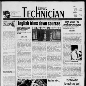 Technician, October 26, 1999
