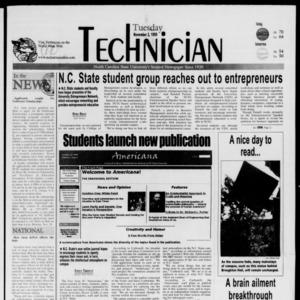Technician, November 2, 1999
