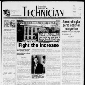 Technician, November 9, 1999