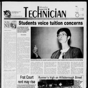 Technician, November 15, 1999