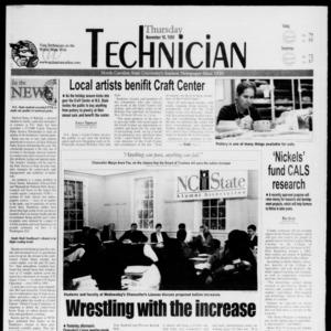 Technician, November 18, 1999