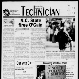 Technician, November 29, 1999