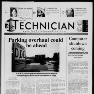 Technician, January 10, 2000