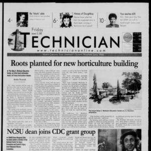 Technician, January 12, 2000