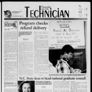 Technician, January 13, 2000