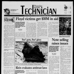 Technician, January 20, 2000
