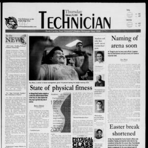 Technician, February 10, 2000