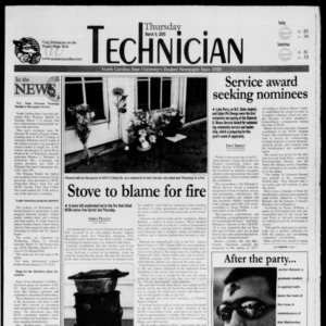 Technician, March 9, 2000
