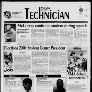 Technician, March 27, 2000