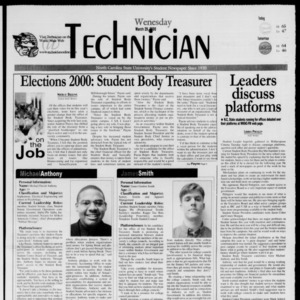 Technician, March 29, 2000