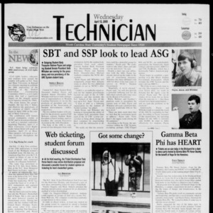 Technician, April 12, 2000