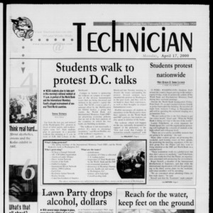 Technician, April 17, 2000