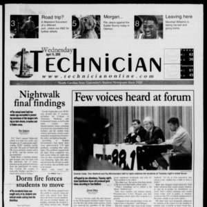 Technician, April 19, 2000