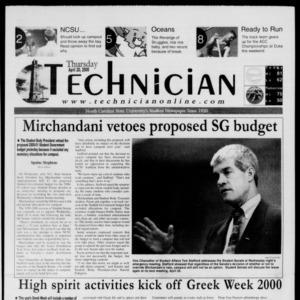 Technician, April 20, 2000