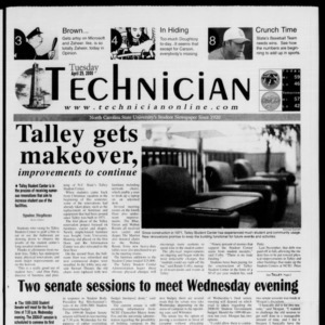 Technician, April 25, 2000