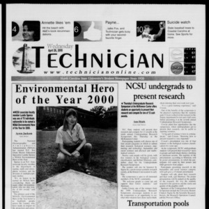 Technician, April 26, 2000