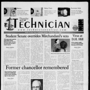 Technician, April 27, 2000