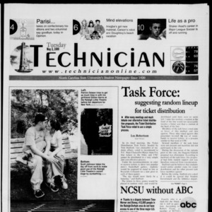 Technician, May 2, 2000