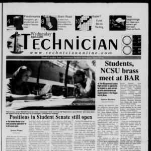 Technician, August 23, 2000