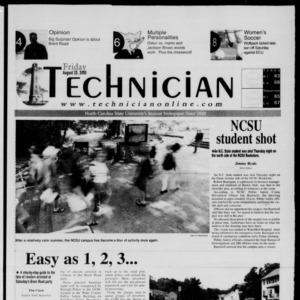 Technician, August 25, 2000