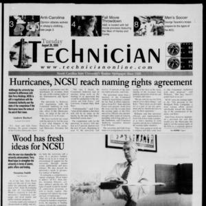 Technician, August 29, 2000