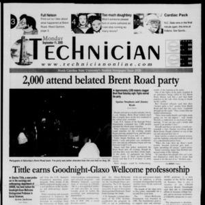 Technician, September 11, 2000