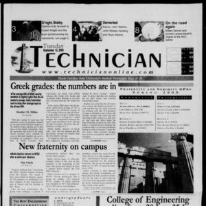 Technician, September 12, 2000