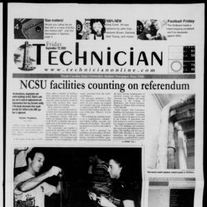 Technician, September 15, 2000