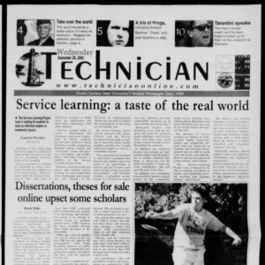 Technician, September 20, 2000