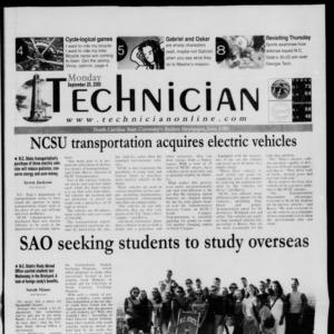 Technician, September 25, 2000