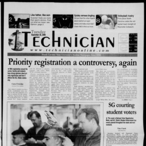Technician, September 26, 2000