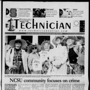 Technician, September 27, 2000
