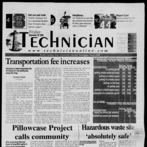 Technician, September 29, 2000