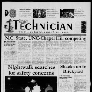 Technician, October 2, 2000