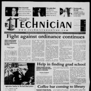 Technician, October 5, 2000