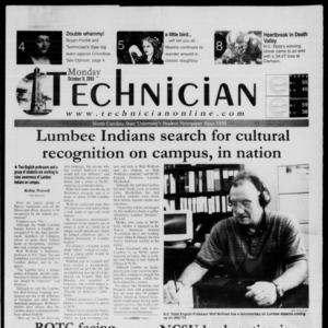 Technician, October 9, 2000