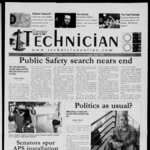 Technician, October 10, 2000