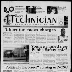 Technician, October 12, 2000