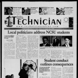 Technician, October 13, 2000