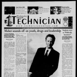 Technician, October 18, 2000