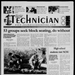 Technician, October 23, 2000